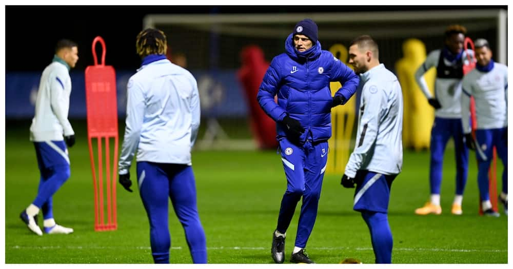 Video of Tuchel's first training session as Chelsea boss excites fans