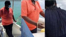 "Atwoli Romantically Carries Wife Mary Kilobi During Coast Vacation: ""Kuja Nikubebe"""