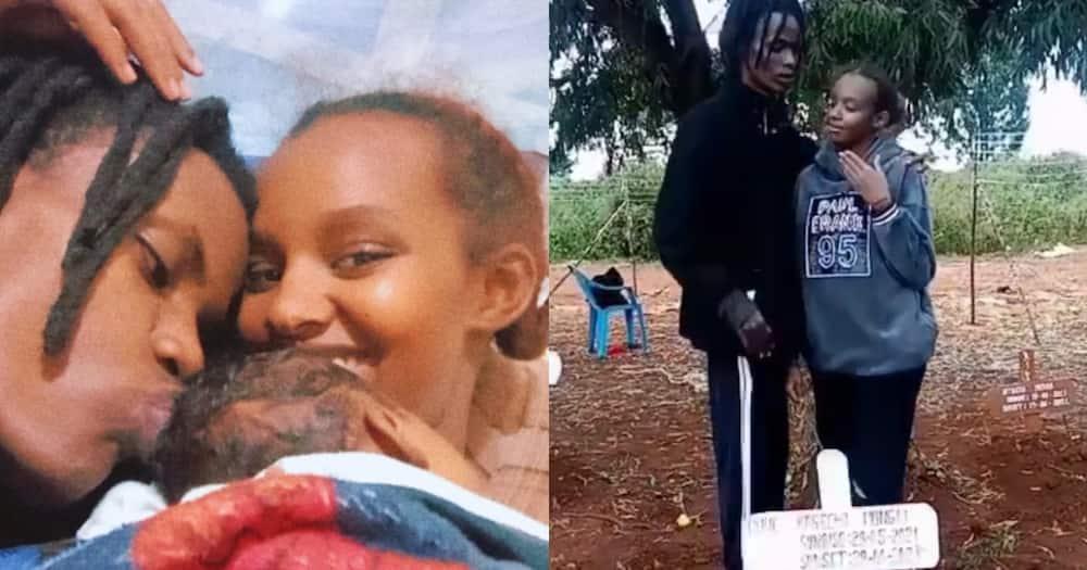 Mungai Mbaya and Aisha.
