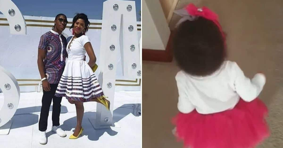 Caster Semenya shares cute video of daughter who's already ...