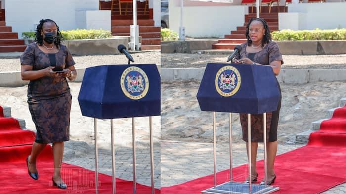 Kanze Dena Afanya Kosa Wakati wa Kuhutubia Wanahabari Kisumu