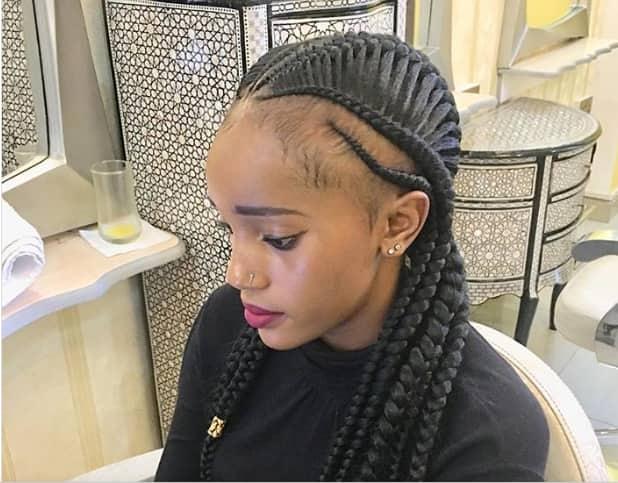 latest cornrows hairstyles