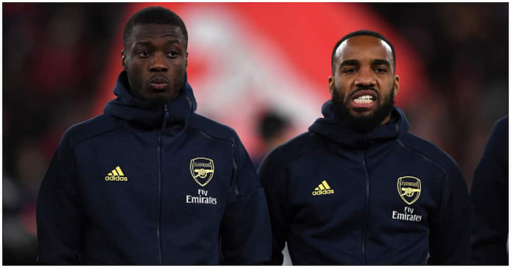Lacazette, Pepe offer support to Auba who is facing difficult times