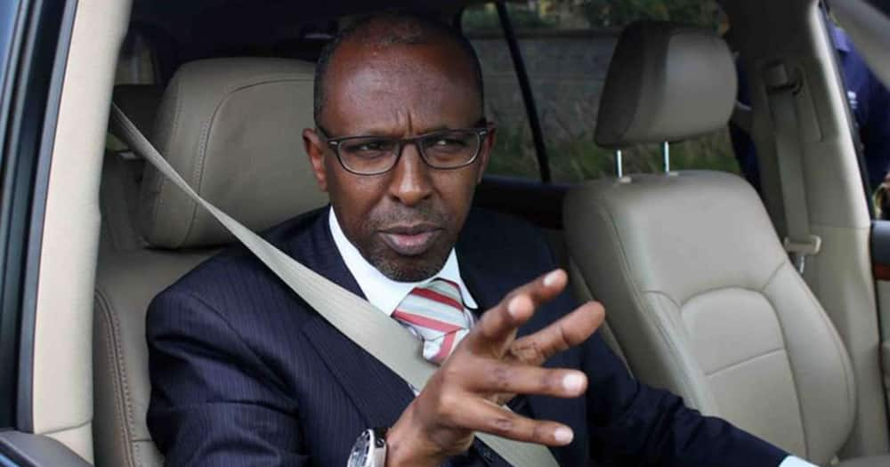 Ahmednassir sends auctioneers to sell 3 KeNHA vehicles to pay for his damaged Bentley windscreen