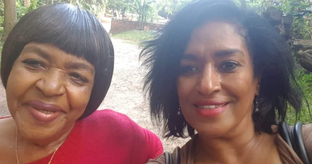 Esther Passaris and her mom Mary Wanjiku Joubert Passaris.