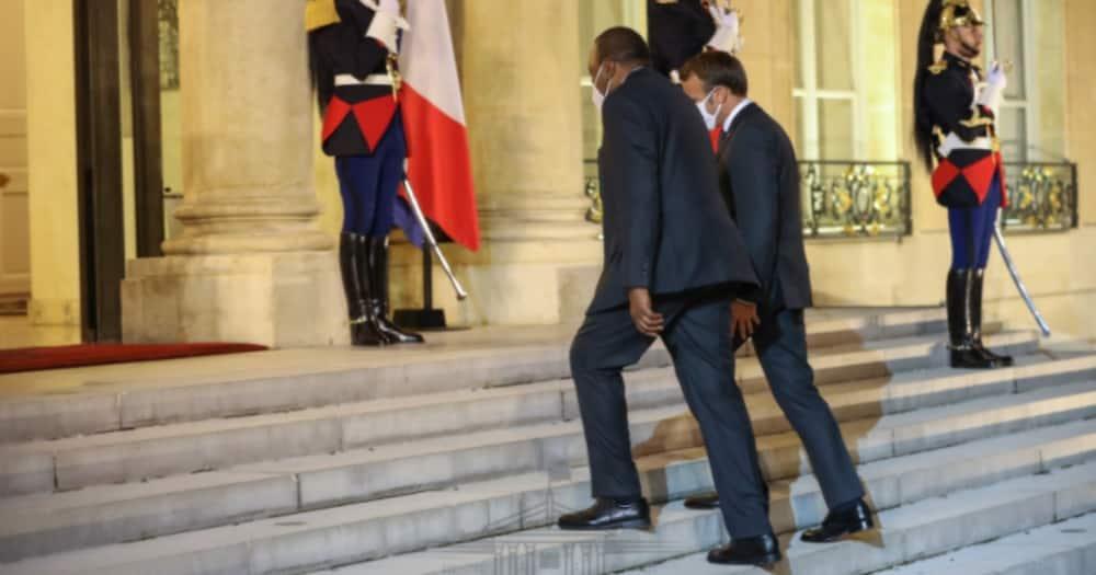 Rais Uhuru awasili Ufaransa na kutia saini mkataba wa mkopo wa KSh180 bilioni