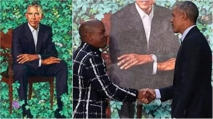 Nigeria's Kehinde Wiley paints Obama's official portrait