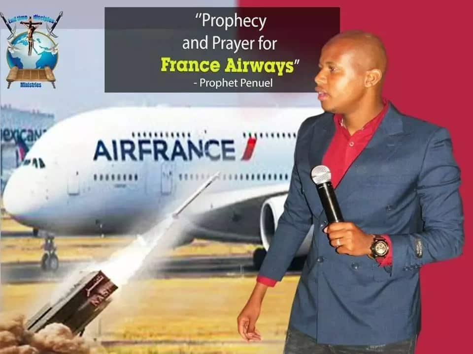 Many Africans may die in a plane crash between Spain and France - Prominent pastor predicts