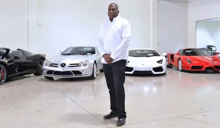 Class! Meet Nigerian exotic-car dealer who has sold 39 cars to Floyd Mayweather