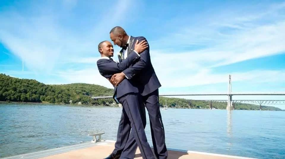 Celebration galore as two men, Carlos and Richard, get married (photos)