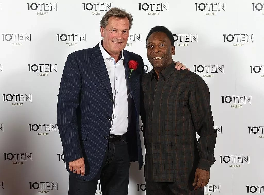 Former Chelsea and Tottenham manager Hoddle collapses at TV studios on Saturday