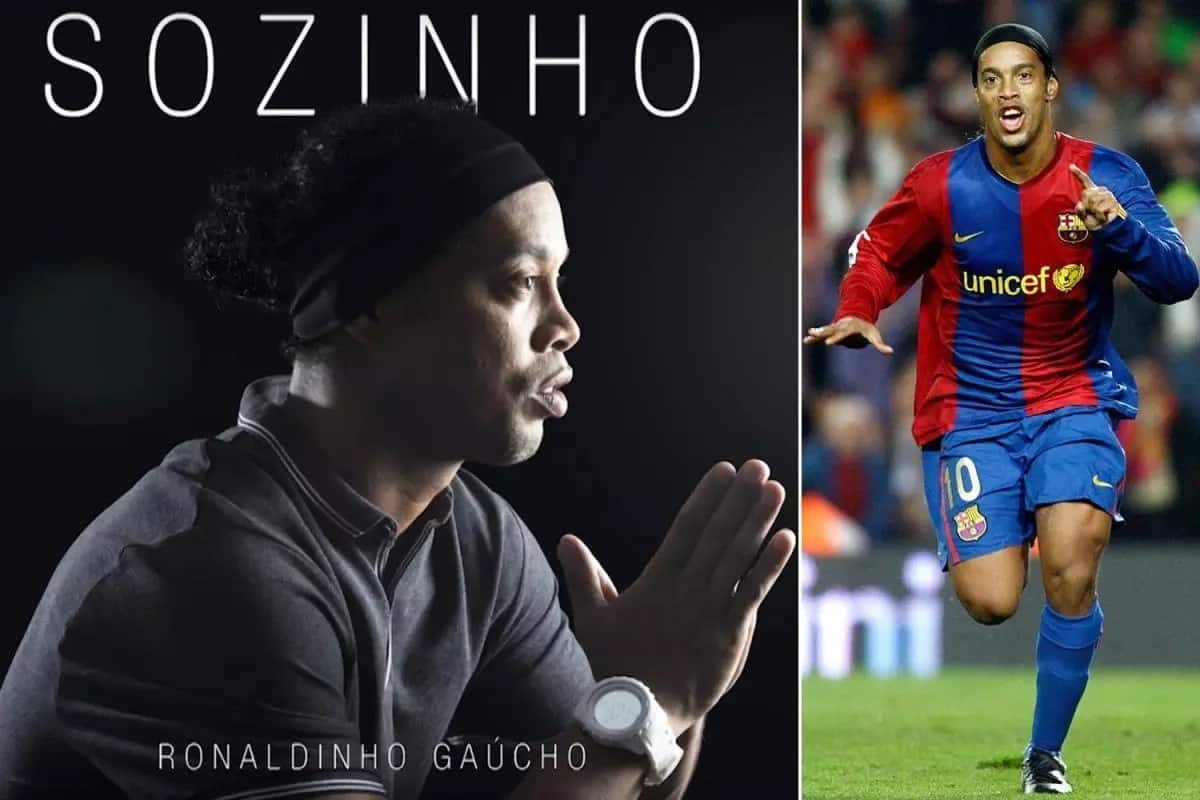 Impressive: Barcelona legend becomes a musician, releases first single