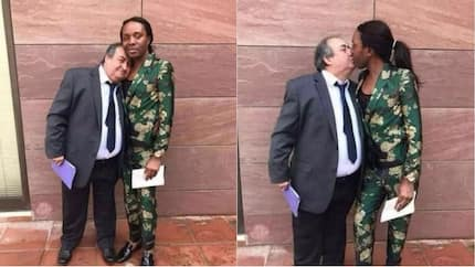 Congolese gay man and his Belgian lover hit the internet with their pre-wedding photos