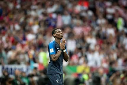 French star mocks England with a song after victory over Croatia in World Cup final (video)
