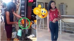 Meet pretty university student who roasts yam to pay her way through school (photos)